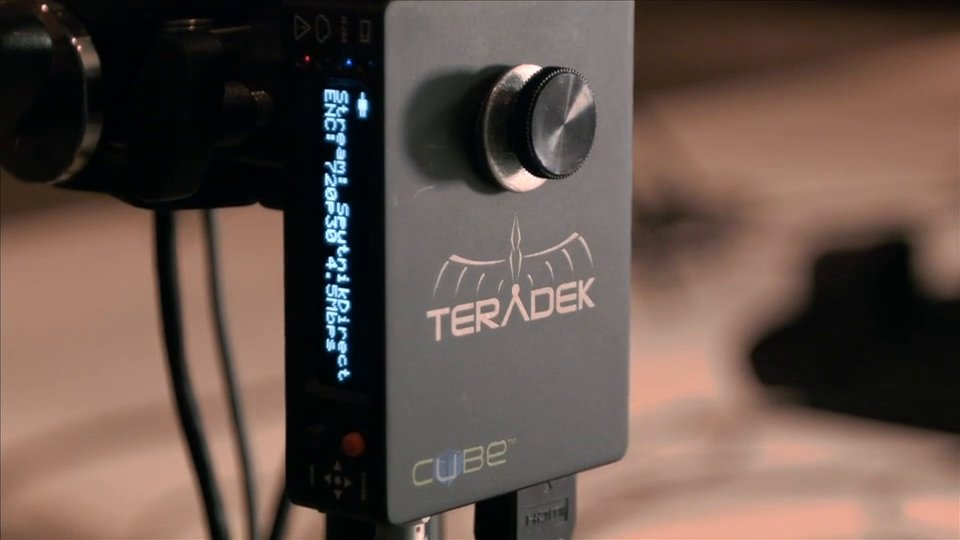 Teradek Cube for On-Stage Hologram
